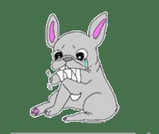 I'm frenchbull. sticker #2447830