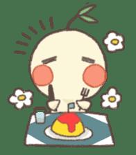 Me and flowerpot sticker #2448292