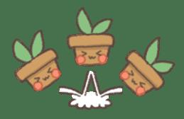 Me and flowerpot sticker #2448293