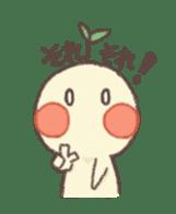 Me and flowerpot sticker #2448297