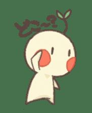 Me and flowerpot sticker #2448298