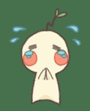 Me and flowerpot sticker #2448299