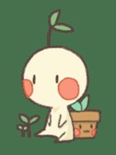 Me and flowerpot sticker #2448327