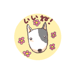 Bull terrier(DAIFUKU) sticker #2450608