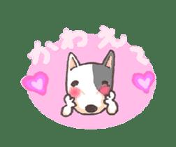 Bull terrier(DAIFUKU) sticker #2450611