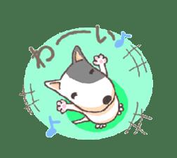 Bull terrier(DAIFUKU) sticker #2450612