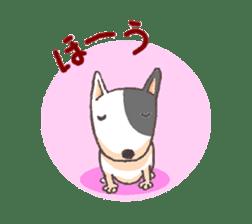 Bull terrier(DAIFUKU) sticker #2450615