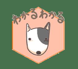 Bull terrier(DAIFUKU) sticker #2450618