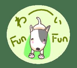 Bull terrier(DAIFUKU) sticker #2450621