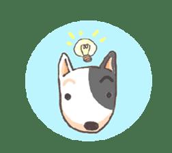 Bull terrier(DAIFUKU) sticker #2450622