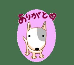 Bull terrier(DAIFUKU) sticker #2450623