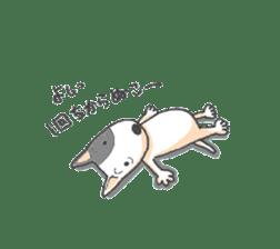 Bull terrier(DAIFUKU) sticker #2450631