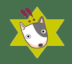 Bull terrier(DAIFUKU) sticker #2450632