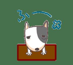 Bull terrier(DAIFUKU) sticker #2450633