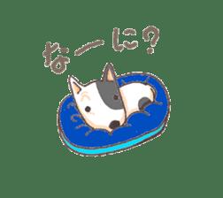 Bull terrier(DAIFUKU) sticker #2450636