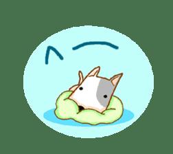 Bull terrier(DAIFUKU) sticker #2450638