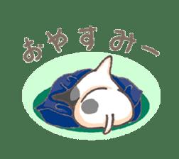Bull terrier(DAIFUKU) sticker #2450645