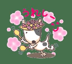 Bull terrier(DAIFUKU) sticker #2450647