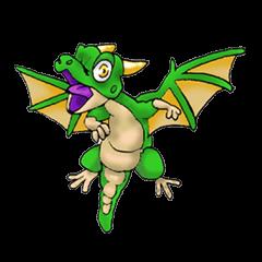 Baby dragon & Little hero