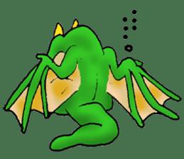 Baby dragon & Little hero sticker #2454538