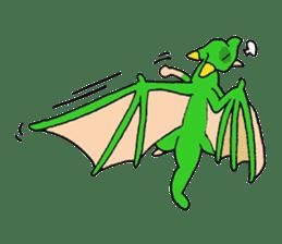 Baby dragon & Little hero sticker #2454561