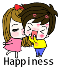 Present girl's short sentences (English) sticker #2458494