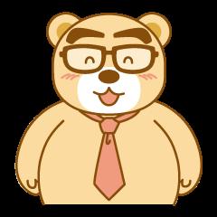 Bear businessman KUMATA