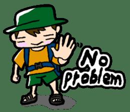 Nonbiri backpacker sticker #2468301