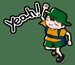 Nonbiri backpacker sticker #2468303