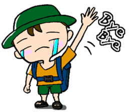 Nonbiri backpacker sticker #2468313