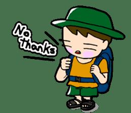 Nonbiri backpacker sticker #2468314