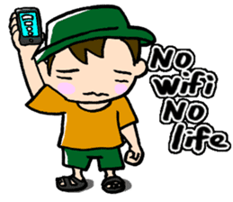 Nonbiri backpacker sticker #2468319