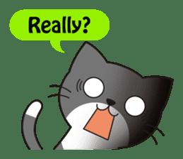 Cute cat[English ver.] sticker #2469572