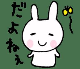 The Rabbit-chan sticker #2469658