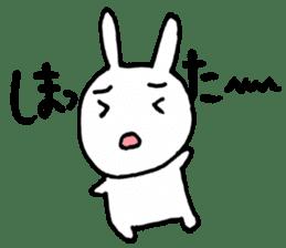 The Rabbit-chan sticker #2469662