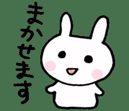 The Rabbit-chan sticker #2469666
