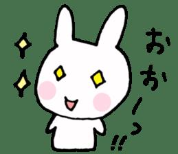The Rabbit-chan sticker #2469670