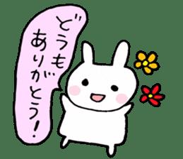The Rabbit-chan sticker #2469681