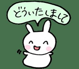 The Rabbit-chan sticker #2469682