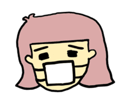 Hair Color Girl sticker #2488326