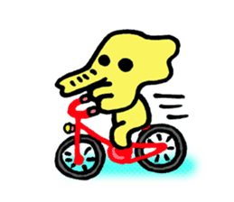 Kawaii Yellow Elephant sticker #2488421
