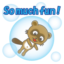 Daily life of active kid (English) sticker #2495958