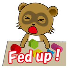 Daily life of active kid (English) sticker #2495963