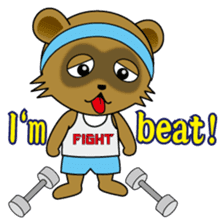 Daily life of active kid (English) sticker #2495965