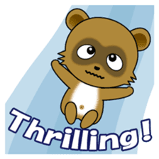 Daily life of active kid (English) sticker #2495972