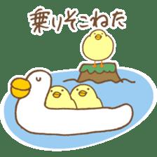 chicken days sticker #2498200