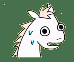 Pony Riders English version sticker #2498765