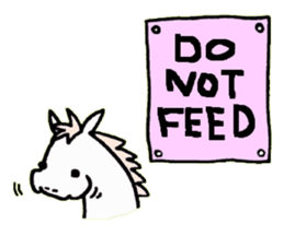 Pony Riders English version sticker #2498768
