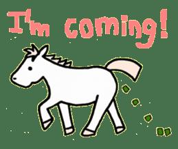 Pony Riders English version sticker #2498774