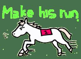 Pony Riders English version sticker #2498775